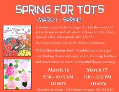 Spring for Tots 2016 - Muscatine Art Center