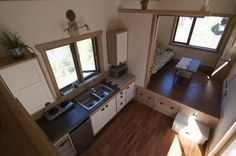 The V House from Nelson Tiny Houses in Nelson, British Columbia. A full customizable tiny house.