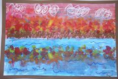Splish Splash Splatter: Fall Landscape Reflections