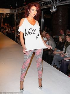 the woman can do no wrong. may i present, amy childs' new clothing line.