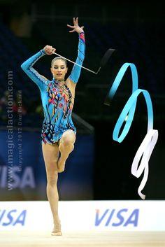 Alexandra Piscupescu We Love Rhythmic Gymnastics! SportSoleil RhythmicGymnasticStore.com Rhythmic Gymnastics Training, Gymnastics Stretches, Gymnastics Workout, Rhythmic Gymnastics Leotards, Gymnastics Gifts, Gymnastics Photos, Gymnastics Photography, Gymnastics For Beginners, Ribbon In The Sky