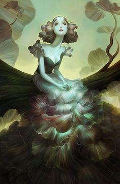 The Grey Lady by SillyJellie.deviantart.com on @deviantART