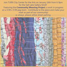 Come visit us tonight at TURN City Center for the Arts and take part in our latest project! http://turncitycenterarts.weebly.com/