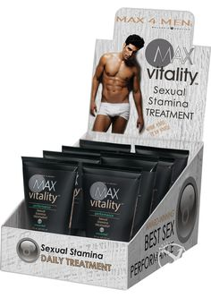 Buy Max 4 Men Max Vitality Performance Sexual Stamina Treatment 2 Ounce online cheap. SALE! $12.99