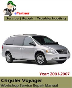 9 best chrysler service manual images on pinterest repair manuals rh pinterest com chrysler grand voyager service manual 2008 2002 Chrysler Voyager Fuel Injectors