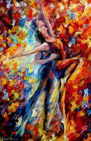 Resultado de imagen para leonid afremov bailarina