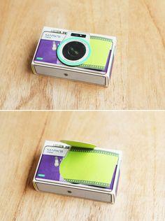 Camera Sticky Note