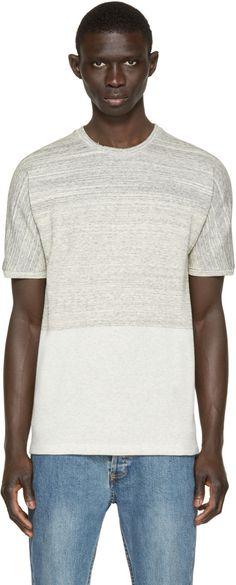Helmut Lang - Grey Dolman Sleeve T-Shirt