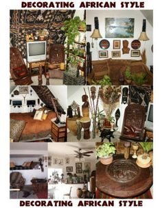 Unique African Home Decor African Eons Nov See Photos Of Decor Theme Decor Looks Home Decor