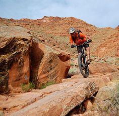 Moab Mountain Biking Trails - Moab mountain bike trail information and maps.