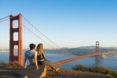 View top-quality stock photos of Hispanic Couple Admiring Golden Gate Bridge San Francisco California United States. Find premium, high-resolution stock photography at Getty Images. San Francisco Bridge, San Francisco California, San Francisco Bay, Ponte Golden Gate, Golden Gate Bridge, San Francisco Photography, Vegas, Best Photo Poses, Best Selfies