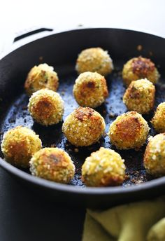 AMAZING 30 Minute TURMERIC Chickpea Fritters! Little falafel like pillows of bliss and SO healthy!
