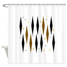 Eames Era 3 Shower Curtain on CafePress.com