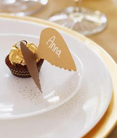 Rocher angel place setting