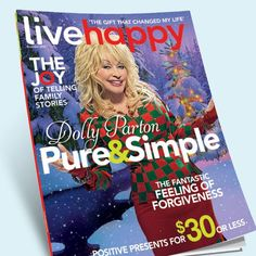 The Joy of Dolly | Live Happy - Available on Newsstands Now