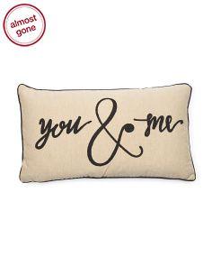 image of 14x26 You & Me Pillow