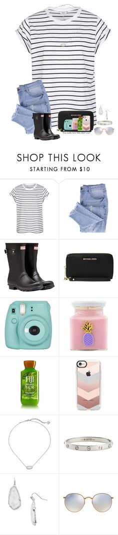 """~😂""wifey""😂~"" by taybug2147 ❤ liked on Polyvore featuring Essie, Hunter, Fujifilm, Flamingo Candles, Casetify, Kendra Scott, Cartier and Ray-Ban"