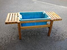 Charmant Wooden Sand/Water Play Table
