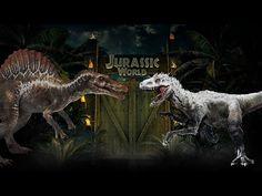 Jurassic World Indominus Rex vs. Spinosaurus