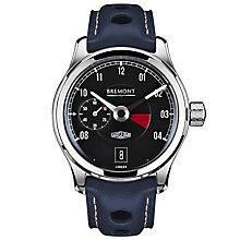 Bremont Jaguar MKI Men's Stainless Steel Strap Watch - Product number 5129222