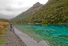 Believed to be the worlds clearest lake - Blue Lake, Nelson, NZ