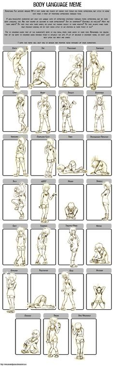 body language meme by TheJunta on DeviantArt