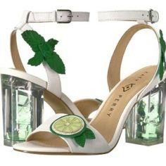 910fc5bf3e50 New Katy Perry Sz 8 Rita City Sandal Shoes Pumps Heels Mojito Lime Mint  Leaf