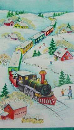 Trains and Christmas just go together