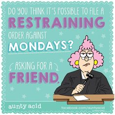#AuntyAcid do you think it's possible