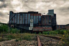 Photoshoot @ a coal mine in Beringen, Belgium    | kiwawa.nl
