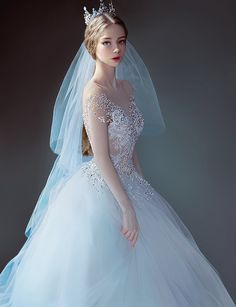 * study, J.Won Han Awesome Super ArtStation - study, J. Dream Wedding Dresses, Wedding Gowns, Fantasy Dress, Quinceanera Dresses, Anime Art Girl, Aesthetic Girl, Fashion Art, Cute Girls, Beautiful Dresses
