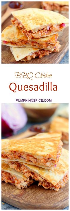 This BBQ Chicken Quesadilla is packed with tender chicken, tangy barbecue sauce, red onions, and mozzarella cheese. It makes the perfect weeknight meal and is ready in just 15 minutes!