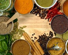 cleaning Ayurvedic herbs