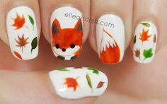 Fox Nails - elle & ish - shopping, decor, fashion, travel and figuring out how to pay for it all