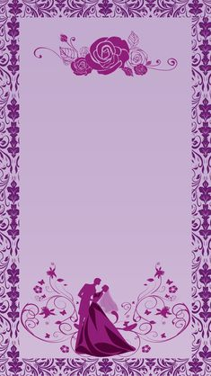 H5 wedding invitation vector background material