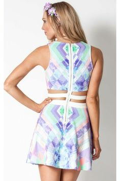 Kaleidoscope dress in print | SHOWPO Fashion Online Shopping