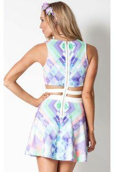 Kaleidoscope dress in print   SHOWPO Fashion Online Shopping