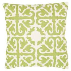 Alhambra Pillow in Lime (Set of 2)