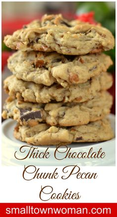 Look at those beauties.  Now those are chocolate chip cookies.  I have the secret to good thick chewy cookies that melt in your mouth!  You are going to love them.