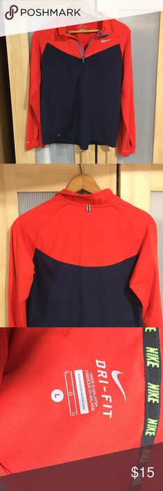 Nike Youth Half Zip (Large, 10/12) Nike Youth half zip in excellent used condition. Nike Jackets & Coats