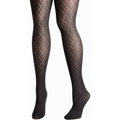 90e36ad73 Avenue Plus Size Diamond Tights (25 CAD) ❤ liked on Polyvore featuring  intimates