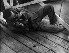 Photographer Aleksandr Rodchenko at Work     Uncredited and Undated Photograph