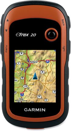 Garmin eTrex 20 GPS - WAAS enabled, compatible with Russian Glonass system, 1.7gig memory, MicroSD, 2AA batteries = 25 hrs, waterproof design