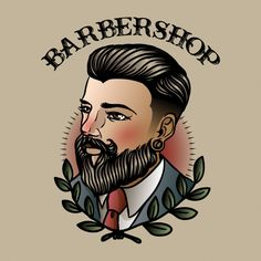 Old Tattoos, Tattoos For Guys, American Classic Tattoo, Barber Sign, Old Shool, Barber Tattoo, Barbershop Design, Old School Tattoo Designs, Traditional Tattoo Design