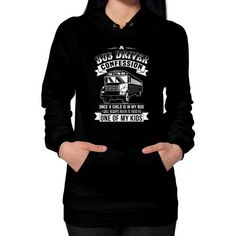 A Bus Driver Hoodie (on woman)