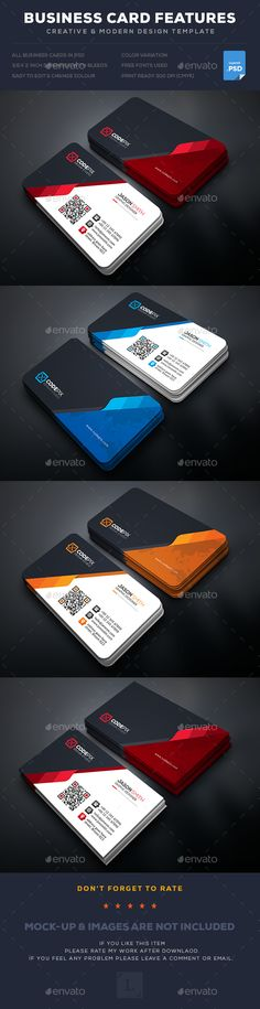 Business Card Template PSD. Download here: https://graphicriver.net/item/business-card/17401344?ref=ksioks
