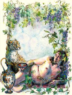 Dionysus by ArtemisiaSynchroma