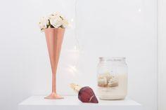 Inspiração: decoração rose gold
