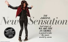 """New Sensation"" Celebrity Social Story Interview & Pictorial of Singer Tay Jardine by Stylist Vincent Michaud. Celebrity Fashion by Creative, Art, Photo, Fashion Director & Stylist Vinny Michaud."