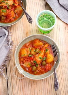 Receta moro de guandules con coco arroz con gandules receta primer plato pinterest - Bacalao guisado con patatas ...